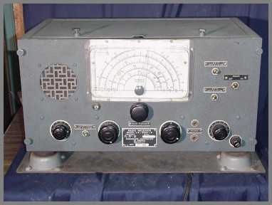 Photo of the front panel showing speaker grill and tuning contols
