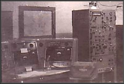 Photo of the NOG control console and transmitter