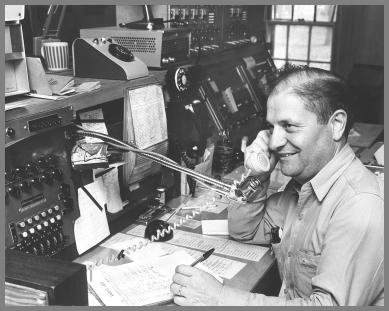 Jerry Degregory at the WJG Controls - Mid 1950s