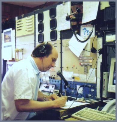 Jim Leow at the WLC controls during the last days of WLC's operation.