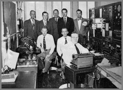 The WLC operating crew in 1953