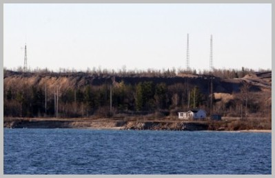 View of WLC from Lake Huron