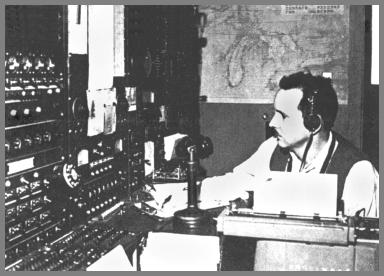 Tom Curtis operating WLC in 1958